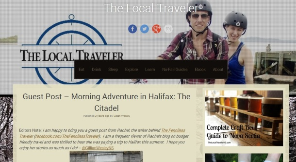 The Local Travelerns: Morning Adventures in Halifax, The Citadel