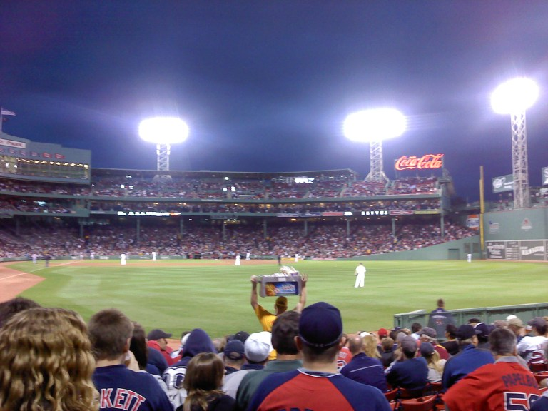 Fenway Park Stadium Lights 2011