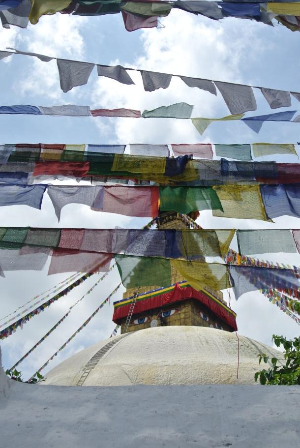 The stupa Boedha.