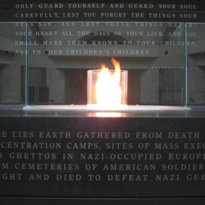 One Hundred Eyes: occupying the same space at the Holocaust Museum