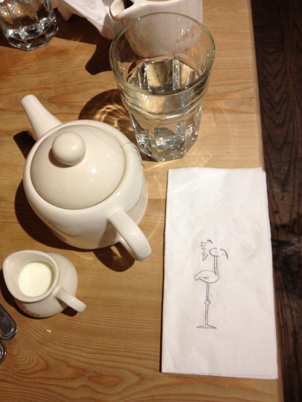 A Breakfast Sketch.