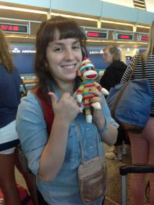 Me and Skeej--headed east!