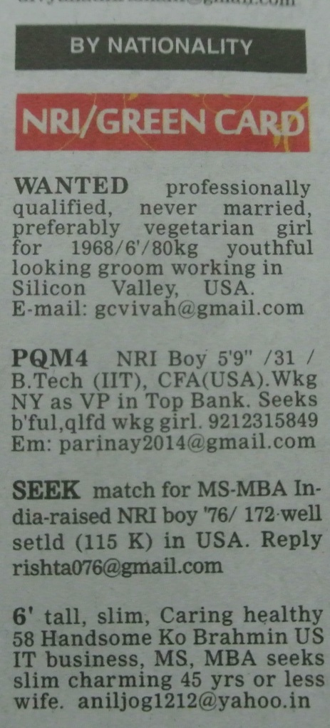 """seeking professionally qualified"""