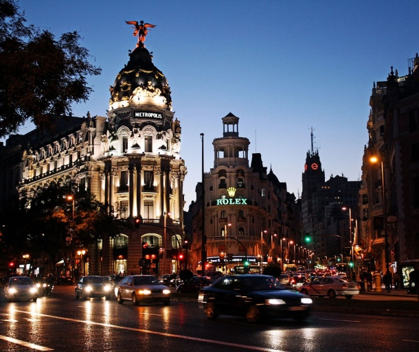 Madrid by Dimitry B. Dimitry B